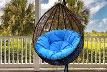 Egg Chairs / #finditstyleit #smallspacesquad #interiordesign #modernhome #outdoorliving  #interior1236 #scandistyle #deco #decor #interior #interiordesign #homedesign #homestyle #homewares #interiorinspiration #interiorenvy #luxolife