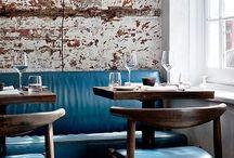 RESTAURANT INTERIORS / Pretty restaurants with wonderful design armospheres.