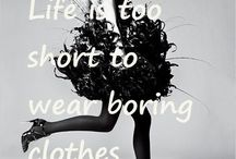 Fashion Quote's that Inspire Us! / Fashion Quotes we adore, please pin your favorites along with us!