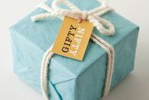 Gift wrapping / Go the extra mile show someone how much you care.