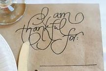 Thanksgiving- crafts, printables, recipes, & more / Happy Thanksgiving!