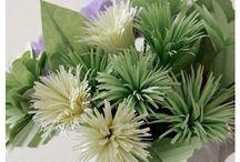 Çiçekler / Handmade flowers