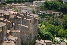 Toscana / Látkép az olaszországi Soranoban