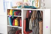 A place for everything... / Organization and cleaning tips and tricks.