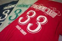 Tシャツ製作サンプル / フェリーチェでオーダー頂いたお客様のTシャツあれこれです。