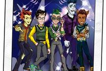 Guys from monster high / The hottest and well-known guys from monster high.