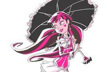 Draculaura / A very sweet and gentle girl of monster high. And one of my favorite characters.