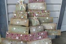 Bringing Christmas to Havelock / Creating contemporary Christmas decorations using locally sourced recycled material.