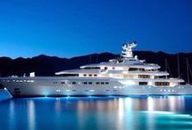 Luxurious Yachts / Dreamy yachts to relax and discover new places...