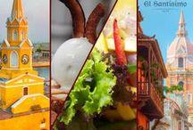Cartagena encanta / Cartagena, sus calles y su sabor.