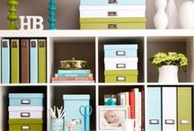 organizing + home / LOVE all of these amazing organization ideas... if only I had the ambition!!!! / by Krystle Holt