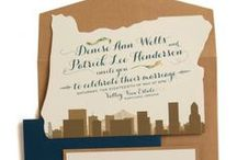 Wedding Invitations / by Oregon Bride Magazine