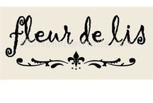Fleur de Lis Love & Stuff  / Love Fleur de Lis' on any and everything.   I would like to get one as a tattoo, my first. / by Diane Davies