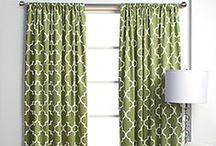 curtains + love / Curtain ideas for my living room... and bedroom!   / by Krystle Holt