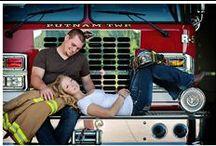 photog + firefighter love / by Krystle Holt