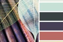 Color: Brighten Up! / Ways to use color, color combinations for home or crafts