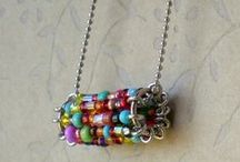 Beaded Beads / Beads made with beads - jewelry making