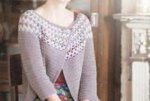 Crocheted Jackets & Sweaters
