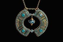 Beading Inspiration / Beautiful beaded items - mostly jewelry by amazing talented people who inspire me.