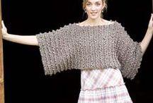 Knitted Shrugs & Shawls