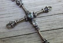 Religious Tokens / Beaded, metal, jewelry or other items of religious significance that are also beautiful or meaningful - could be any religion.