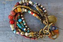 Chunky Boho Jewelry / Chunky funky wearable jewelry of all sorts