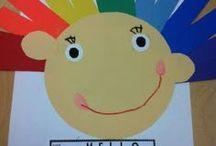Art Class Ideas / Elementary art class / by Karen Clark