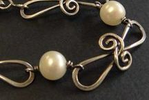 Wire chains / Handmade Wire jewelry chains