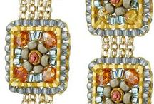 Miguel Ases Beaded Jewelry / Gorgeous beaded creations (mostly earrings) by Miguel Ases