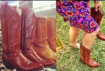 #SXGW Goodwill Festival Style / Austin is Music City and we're pretty serious about our Festival Style for Austin City Limits, Fun Fun Fun, SXSW, and just weekly live music shows around town. Nothing is more authentic to the music scene than vintage & thrift store fashion!