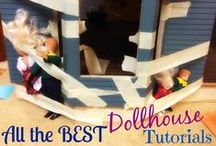 Victoria's Farmhouse Dollhouse / Miniatures and dollhouse-construction tips, tutorials and ideas. / by Rebecca Grabill