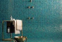 So fresh, So clean / Bathroom design  / by Tina Alberico Stoecklein