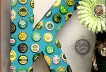Inspiration | Crafts | Bottle Caps / by Suzanne Hopkins
