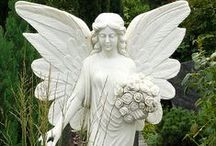 Angel Statues / by LindyAnn White