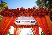 Wedding a la Orange / Shades of Orange for a Wedding
