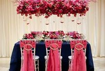 Navy/Pink Wedding / Shades of Pink with Navy Wedding