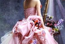 Brides in Colors / Wedding gowns in Color for the Cultural &  Non-traditional Bride.