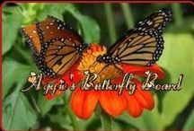 BUTTERFLIES....MOTHS & CRITTERS / if u hav never watched a caterpillar grow into a butterfly------u need to do it. amazing, and i understand why they say a butterfly signifies new birth or born again for a christian . . . THEY STAND FOR NEW LIFE / by Agnes Krause