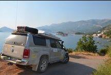 Gabło Adventure Team / Bałkany 2013. Amarok jako członek Gabło Adventure Team przejechał m.in. Alpy Albańskie, Góry Przeklęte, Albanię. Jechał przez plaże, przez góry i poza drogami :)