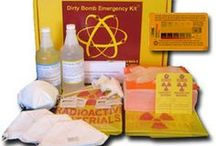 Radiation Protection Emergency Kits / Radiation Emergency Kits to detect, block and decontaminate radiation. Used by medical facilities, first responders and nuclear facilities. Also used for homeland security and civil defense.