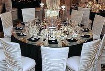 Black/White Wedding