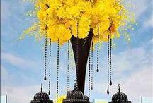 Black/Yellow Wedding / Outstanding Yellow & Black