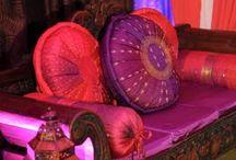 Moroccan Wedding / Rich colors of Purple, Gold, Orange, Turquoise & Copper.