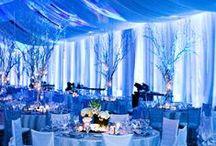 Something Blue Wedding / Ice Blue, Diamond Blue & Pale Blues for A Wedding.