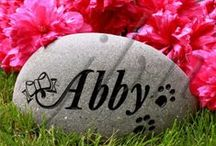 Pet Rocks & Gravestones / J.B. Newall Memorials would be honoured to share with you the gratification of creating a personalized pet memorial that will last your family for generations. Visit: jbnewall.com
