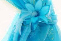 Caribbean Blue Wedding / Shades of the Ocean in Blues
