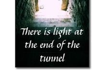 AT THE END OF THE TUNNEL / These pics i find interesting, tunnels have always been intriquing.  Amazing beautiful nature- its awesome how some of the trees and flowers grow to form tunnels / by Agnes Krause