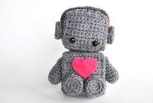 Knitting.