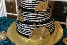 Black/White/Gold Wedding / Black White & Gold Wedding