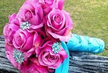 Turquoise/Pink Wedding / Turquoise/Teal & Pink Remixed for Weddings